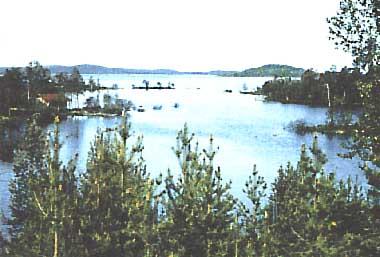 Photo of Lake Inari