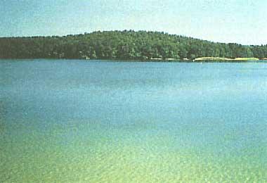 Photo of Lake Stechlin