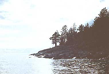 Photo of Lake Ladoga