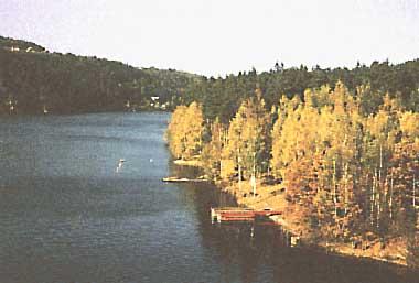 Photo of Lake Slapy