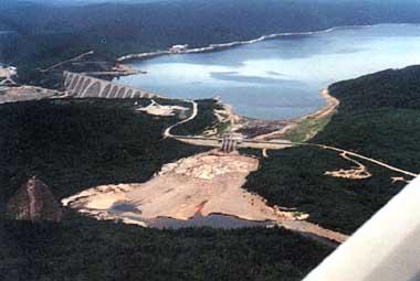 Photo of Manicouagan Reservoir