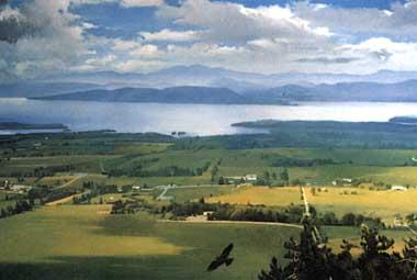 Photo of Lake Champlain