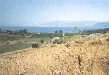 Photo of Lake Kinneret