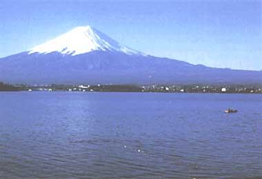 Photo of Lake Kawaguchi