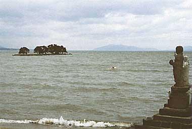 Photo of Lake Shinji