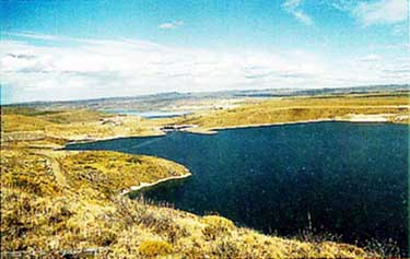 Photo of Alicura Reservoir