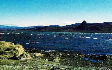 Photo of Lake Cardiel