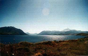 Photo of Lake Huechulaufquen