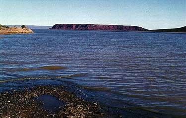 Photo of Los Barreales Reservoir